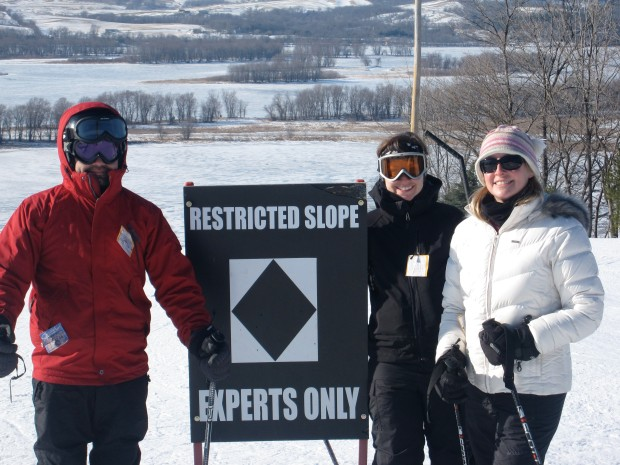 Skiing trip at Chestnut Mountain