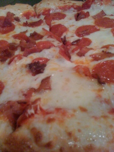 Pangea's Pizza up close