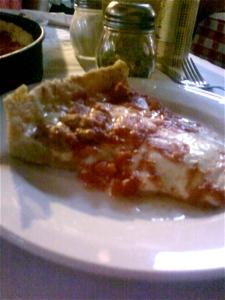 Pizano's Pizza slice
