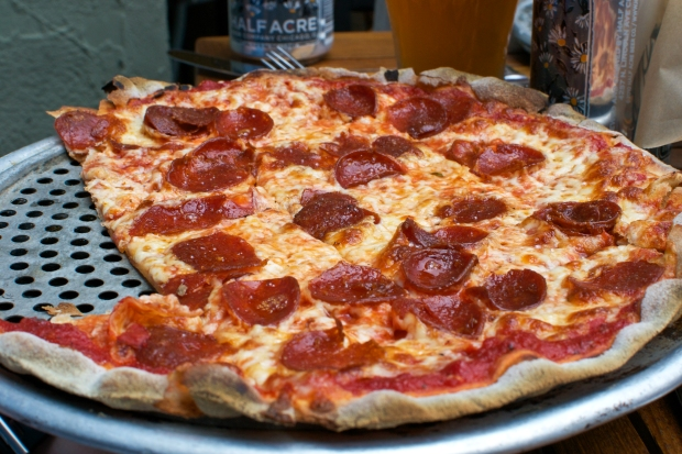 Osteria Via Stato Pepperoni Pizza